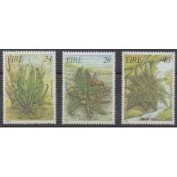 Ireland - 1986 - Nb 589/591 - Flora