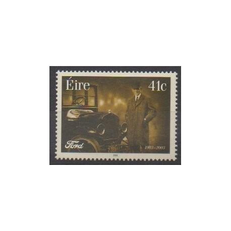 Ireland - 2003 - Nb 1519 - Cars