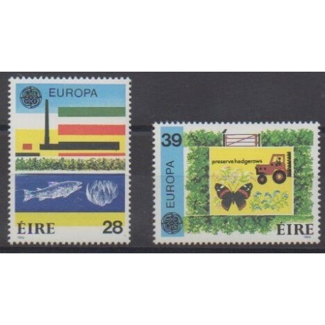 Ireland - 1986 - Nb 592/593 - Environment - Europa