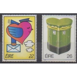 Ireland - 1986 - Nb 587/588 - Postal Service