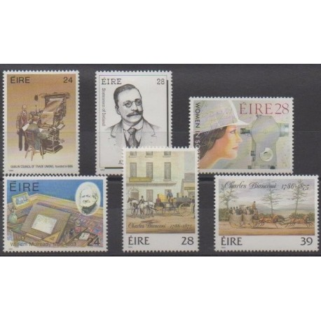 Ireland - 1986 - Nb 608/613