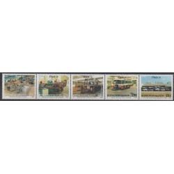 South Africa - Bophuthatswana - 1990 - Nb 243/247 - Transport - Science