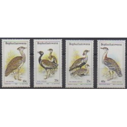 South Africa - Bophuthatswana - 1983 - Nb 112/115 - Birds