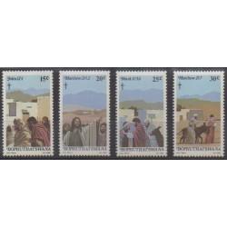 South Africa - Bophuthatswana - 1982 - Nb 88/91 - Easter