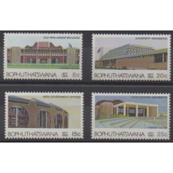 South Africa - Bophuthatswana - 1982 - Nb 96/99 - Architecture