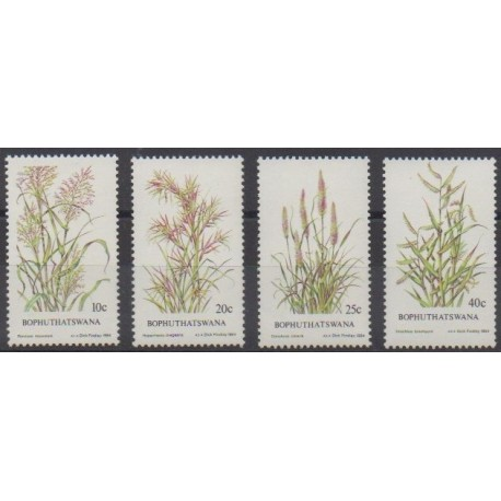 South Africa - Bophuthatswana - 1984 - Nb 116/119 - Flora