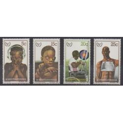 South Africa - Bophuthatswana - 1981 - Nb 68/71 - Health