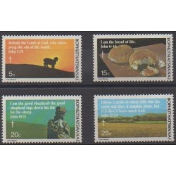 South Africa - Bophuthatswana - 1981 - Nb 72/75 - Easter