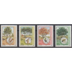 South Africa - Bophuthatswana - 1985 - Nb 144/147 - Trees