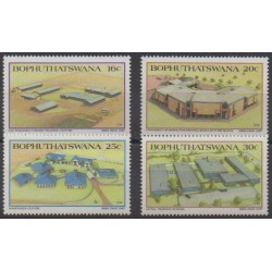 South Africa - Bophuthatswana - 1987 - Nb 190/193 - Science
