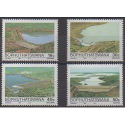 South Africa - Bophuthatswana - 1988 - Nb 210/213 - Science