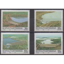 South Africa - Bophuthatswana - 1988 - Nb 210/213 - Science