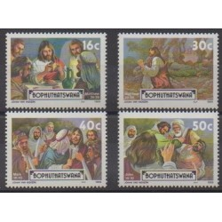 South Africa - Bophuthatswana - 1989 - Nb 214/217 - Easter