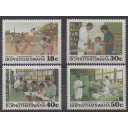 South Africa - Bophuthatswana - 1990 - Nb 231/234 - Health