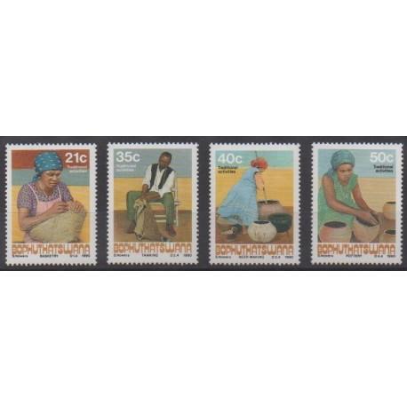 South Africa - Bophuthatswana - 1990 - Nb 248/251 - Craft
