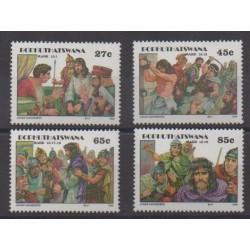 South Africa - Bophuthatswana - 1992 - Nb 277/280 - Easter