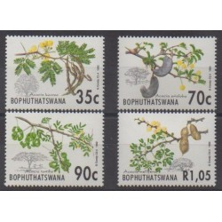 South Africa - Bophuthatswana - 1992 - Nb 281/284 - Fruits or vegetables