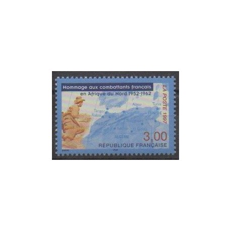 France - Poste - 1997 - Nb 3072 - Military history