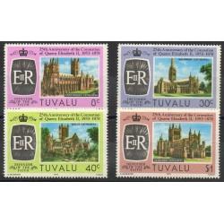 Tuvalu - 1978- No 69a/72a - Royauté - Eglises