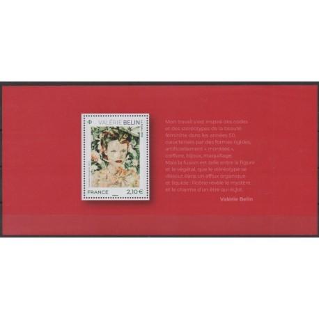 France - Souvenir sheets - 2020 - Nb BS174 - Paintings