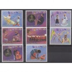 Barbade - 2003 - No 1103/1110 - Folklore - Musique