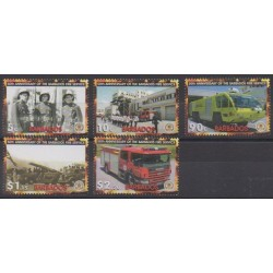 Barbados - 2005 - Nb 1148/1152 - Firemen