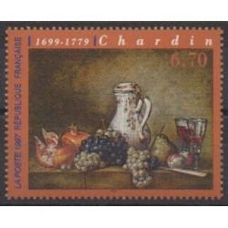 France - Poste - 1997 - Nb 3105 - Paintings