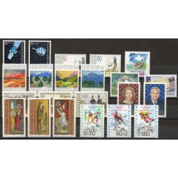 Liechtenstein - Année complète - 1991 - No 952/973