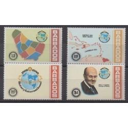 Barbados - 1980 - Nb 500/503 - Rotary or Lions club