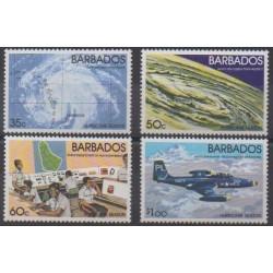Barbados - 1981 - Nb 529/532 - Science