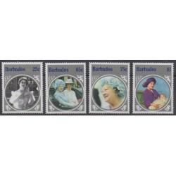 Barbados - 1985 - Nb 619/622 - Royalty