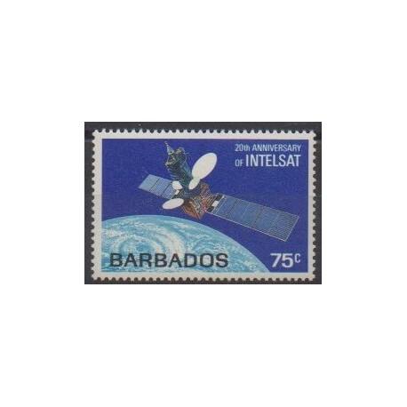 Barbados - 1985 - Nb 627 - Space