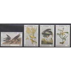 Barbados - 1985 - Nb 623/626 - Birds