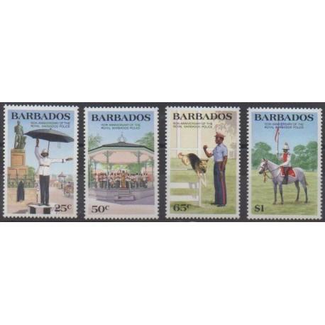 Barbados - 1985 - Nb 633/636