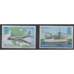 Barbados - 1986 - Nb 651/652 - Exhibition