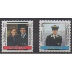Barbados - 1986 - Nb 657/658 - Royalty