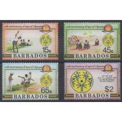 Barbados - 1987 - Nb 681/684 - Summer Olympics