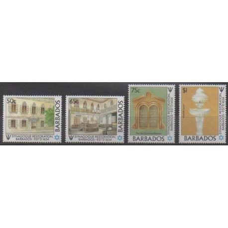 Barbados - 1987 - Nb 710/713
