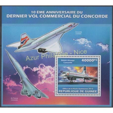 Guinée - 2013 - No BF 1598 - Avions