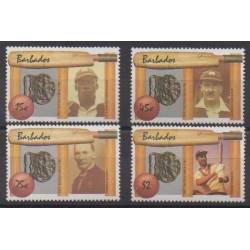 Barbados - 1988 - Nb 718/721 - Various sports