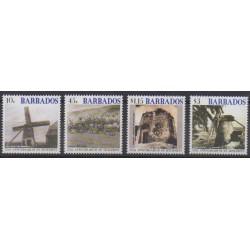 Barbados - 2002 - Nb 1078/1081 - Various Historics Themes