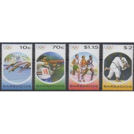 Barbados - 2004 - Nb 1116/1119 - Summer Olympics