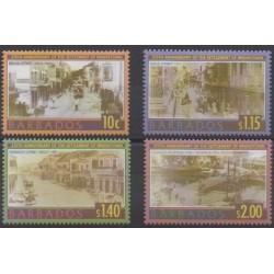 Barbados - 2003 - Nb 1093/1096 - Various Historics Themes