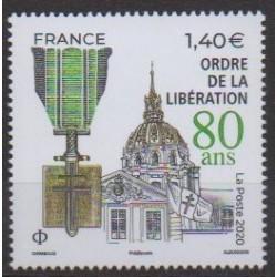 France - Poste - 2020 - Nb 5458 - Second World War