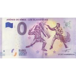 Euro banknote memory - 30 - Arènes de Nîmes : Les gladiateurs - 2018-2