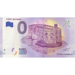 Euro banknote memory - 17 - Fort Boyard - 2018-2