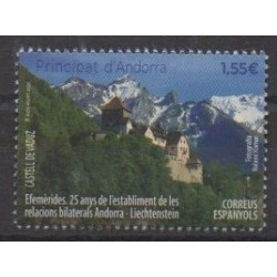 Spanish Andorra - 2020 - Nb 490 - Various Historics Themes
