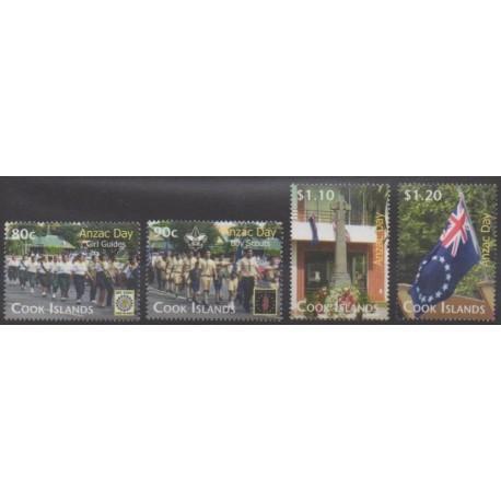Cook (Islands) - 2010 - Nb 1320/1323 - Scouts