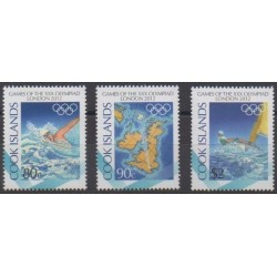 Cook (Islands) - 2012 - Nb 1408/1410 - Summer Olympics