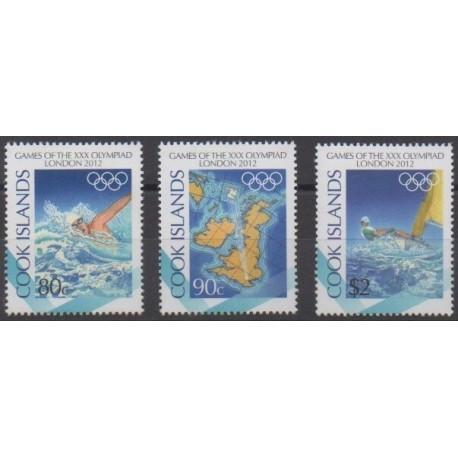 Cook (Islands) - 2012 - Nb 1408/1410 - Summer Olympics